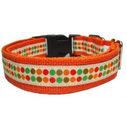 Doggy Dots Ribbon Collar or Lead