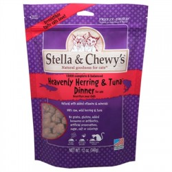 Heavenly Herring & Tuna 12 oz Freeze Dried Dinner for Cats